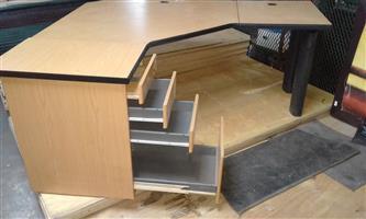 Desk corner workstation for sale