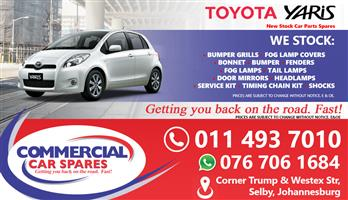 Toyota Yaris 2006 Parts for sale