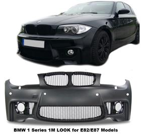 """BMW E82 /E87 """"04-12"""" 1M LOOK, FRONT BUMBER SKIN"""