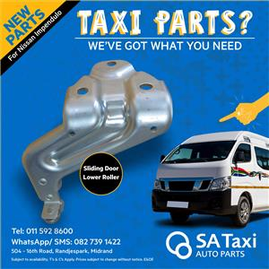 NEW Sliding Door Lower Roller suitable for Nissan Impendulo - SA Taxi Auto Parts new spares