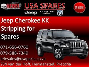 Jeep Cherokee KK (black) Stripping for Spares.