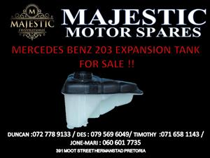 MERCEDES BENZ W203 EXPANSION TANK