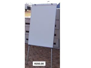 White boards used / Standing whiteboards
