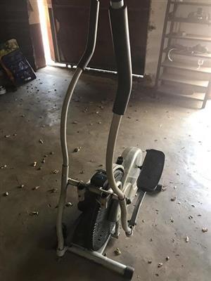 Trap oefen fiets