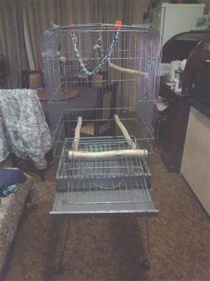 parrot cage new
