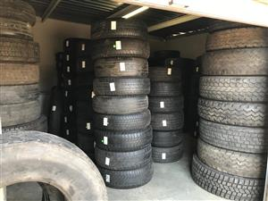 Passenger and Truck tyres