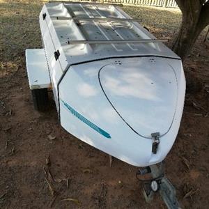 Elite Fibre glass trailer