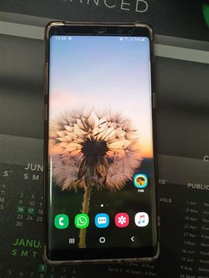Samsung note 9 and note 8 for sale