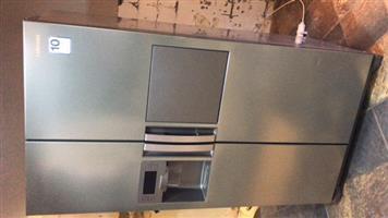 samsung double door fridge and freezer
