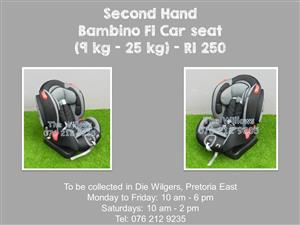 Second Hand Bambino F1 Car seat (9 kg - 25 kg)