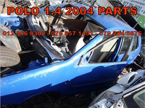 VW Polo 1.4 2004 Replacement Parts
