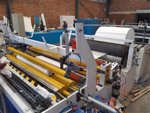 Brand new toilet paper making machine for sale .