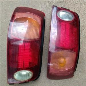 Toyota Tazz taillights