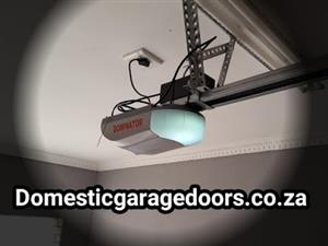 New quality garage door automation installations