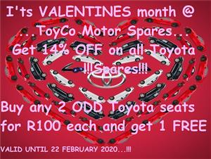 TOYOTA SPARES AND PARTS NEW AND USED