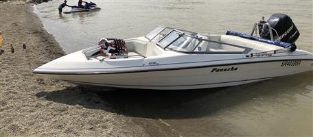 2014 Panache 1850 LX with 200 Mercury Optimax for Sale