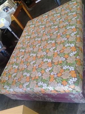 Double base with New mattress
