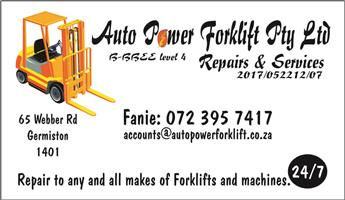 Forklift Repairs & Services