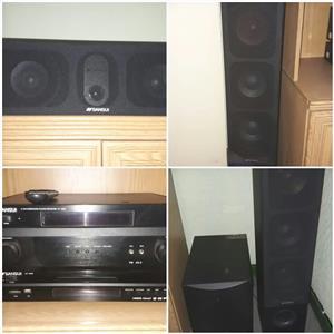 Sansui 5.1 channel surround sound HT-4000 hi fi