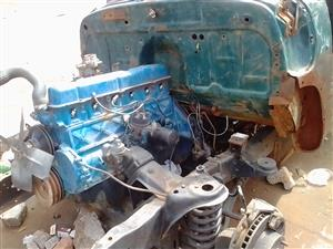 Ford F1 Body and engine.