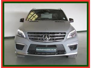 2016 Mercedes Benz ML 63 AMG Premium Edition