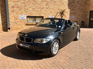 2008 BMW 1 Series 120i convertible Exclusive