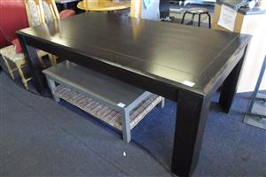 Wooden 8 Seater Dining Room Table