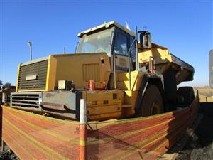 Komatsu HM400-1, Stripped Articulated Dump Truck- ON AUCTION