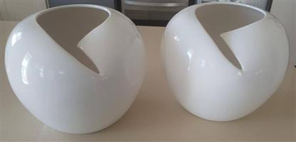 2 Orchid Vases