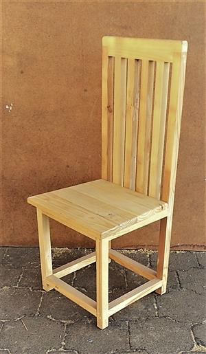 Patio table chair Farmhouse series 1000 High back Raw