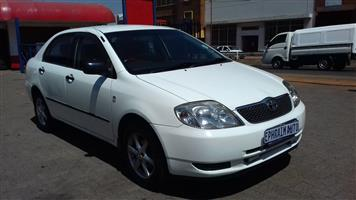 2005 Toyota Corolla 180i GSX automatic