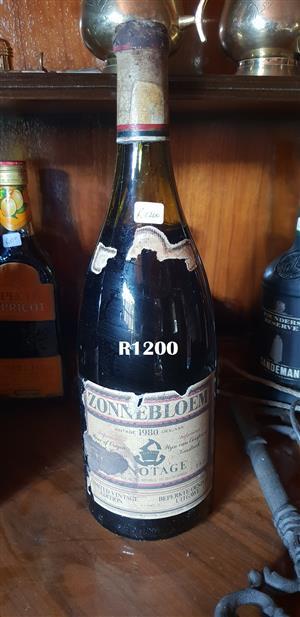 1.5Lt Zonnebloem 1976 Pinotage Limited Vintage Edition