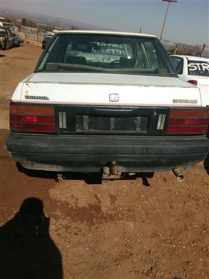 Honda ballade for stripping,engine,gearbox etc