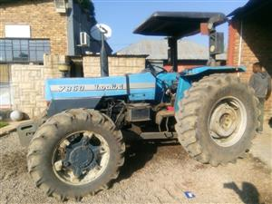 Blue Landini 7860 52.9 Kw / 71 Hp  4x4 Pre-Owned Tractor