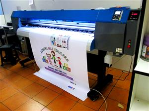 F-1864/AQUA FastCOLOUR 1860mm EPSON® DX7 Printhead Large-Format Water Based Dye or Pigment
