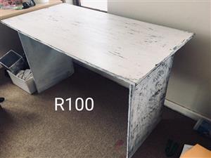 Vintage white desk for sale
