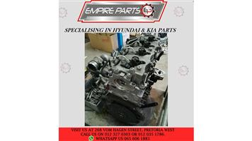 ENGINES & GEARBOX'S - HYUNDAI & KIA - AVAILABLE NOW
