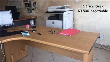 Corner office desk for sale