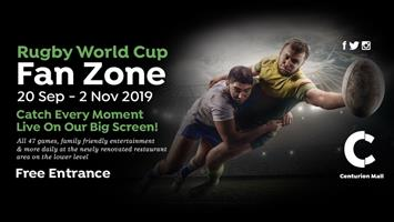 Centurion Mall Rugby World Cup Fan Zone