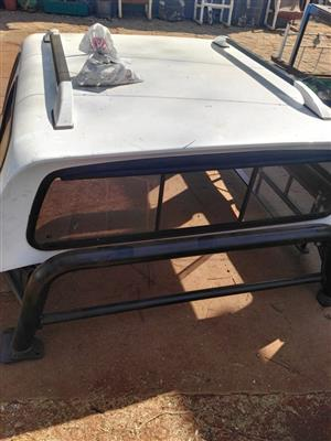 Canopy & Cattle Rail for Sale