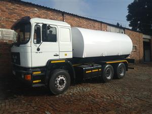 2003 MAN with 12000lt Water tank on