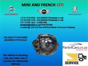 Peugeot Partner gearbox for sale