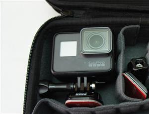 GoPro HERO 5 Black 64GB SD in Case