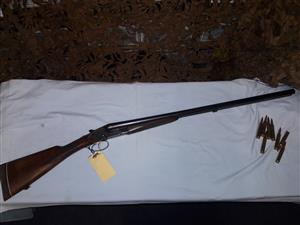 BRNO 12ga side by side shotgun