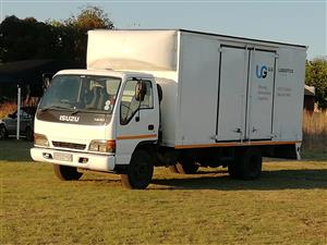 4 ton truck closed body available with GIT insurance cover