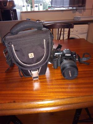 Canon EOS 77D and  EFS 18-135mm Lens