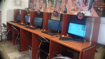 Internet Café equipments 4 sale