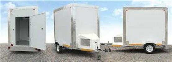 New Mobile Cold Room on Trailer with Papers