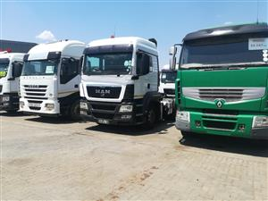 CONTRACTS FOR TRUCKS AVAILABLE ! FIRST COME FIRST SERVE! TRUCKS ALAO FOR SALE ! CALL 0626275161
