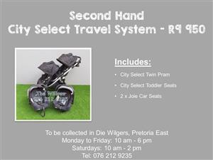 Second Hand City Select Travel System